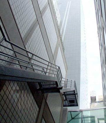 Trappenhuis en daktrappen Achmeatoren