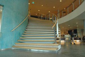 Design wenteltrap Medisch Centrum Leeuwarden